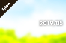 【ライブ情報】2019年 5月